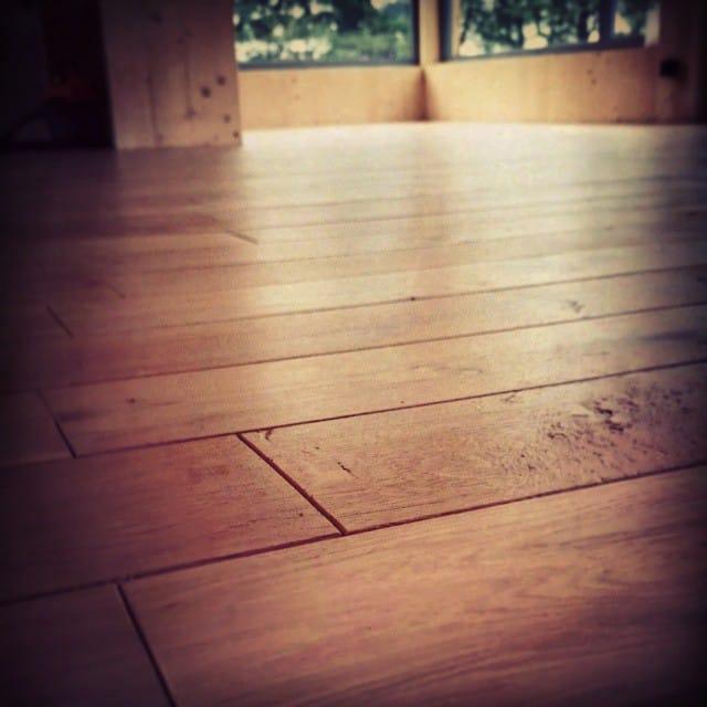 DIY_podłoga dębowa
