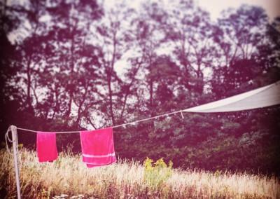 pranie i żagiel od słońca, dwa w jednym
