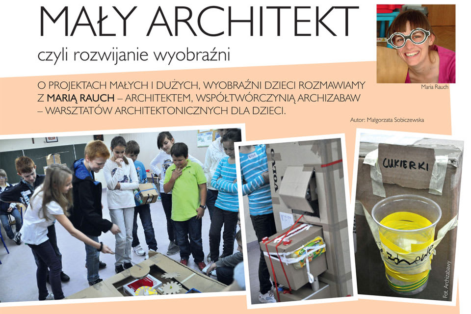 dla kwartalnika Dziecko w Warszawie 2012