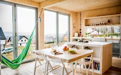 Dom drewniany XXI wieku