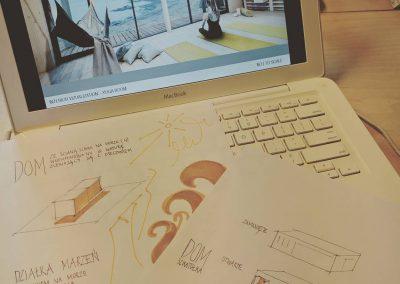 Szkice i najważniejsze założenia projektu